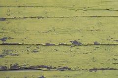Παλαιός πράσινος βρώμικος ξύλινος τοίχος Στοκ εικόνα με δικαίωμα ελεύθερης χρήσης
