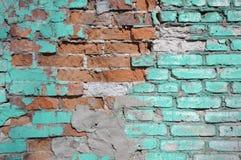 Λεπτομέρεια του παλαιού τουβλότοιχος Στοκ φωτογραφία με δικαίωμα ελεύθερης χρήσης