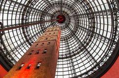 Παλαιός πυροβοληθείς πύργος στο κεντρικό εμπορικό κέντρο της Μελβούρνης Στοκ φωτογραφία με δικαίωμα ελεύθερης χρήσης