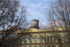 Παλαιός πόλης πύργος του Πόρτλαντ Όρεγκον Στοκ φωτογραφία με δικαίωμα ελεύθερης χρήσης