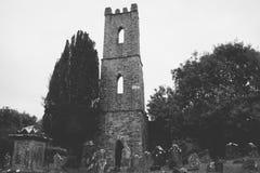 Παλαιός πύργος εκκλησιών Innishannon Στοκ εικόνες με δικαίωμα ελεύθερης χρήσης
