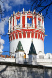 Παλαιός πύργος μονή Μόσχα novodevichy Στοκ φωτογραφίες με δικαίωμα ελεύθερης χρήσης