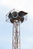 Παλαιός πύργος ομιλητών Στοκ φωτογραφία με δικαίωμα ελεύθερης χρήσης