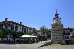 Παλαιός πύργος ρολογιών τετραγωνικός-Tryavna, Βουλγαρία Στοκ φωτογραφίες με δικαίωμα ελεύθερης χρήσης