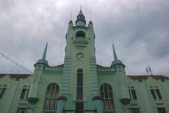 Παλαιός πύργος ρολογιών του Δημαρχείου Στοκ Εικόνες