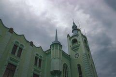 Παλαιός πύργος ρολογιών του Δημαρχείου Στοκ φωτογραφίες με δικαίωμα ελεύθερης χρήσης