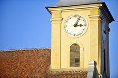 Παλαιός πύργος ρολογιών Στοκ εικόνα με δικαίωμα ελεύθερης χρήσης