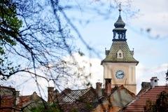 Παλαιός πύργος ρολογιών Στοκ Εικόνες