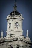 Παλαιός πύργος ρολογιών Plaza de Colon, Μαδρίτη, Ισπανία Στοκ φωτογραφίες με δικαίωμα ελεύθερης χρήσης