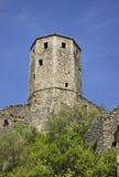 Παλαιός πύργος σε Pocitelj η χορήγηση του συνδετήρα της Βοσνίας περιοχών περιοχής που χρωματίστηκε η Ερζεγοβίνη περιλαμβάνει σημα Στοκ Φωτογραφίες
