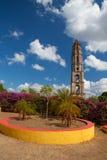 Παλαιός πύργος σκλαβιάς σε Manaca Iznaga κοντά στο Τρινιδάδ, Κούβα Στοκ Εικόνες