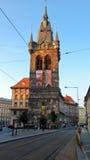 Παλαιός πύργος στην Πράγα Στοκ εικόνα με δικαίωμα ελεύθερης χρήσης