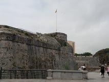 Παλαιός πύργος, Ceuta, Ισπανία Στοκ φωτογραφία με δικαίωμα ελεύθερης χρήσης