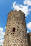 Παλαιός πύργος Kaysersberg στην Αλσατία, Γαλλία Στοκ Εικόνα