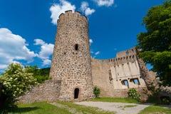 Παλαιός πύργος Kaysersberg στην Αλσατία, Γαλλία Στοκ φωτογραφία με δικαίωμα ελεύθερης χρήσης
