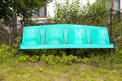 Παλαιός πλαστικός πάγκος Στοκ Φωτογραφία