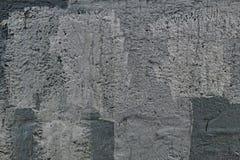 Παλαιός ραγισμένος θλιβερός συμπαγής τοίχος στοκ φωτογραφία με δικαίωμα ελεύθερης χρήσης