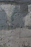 Παλαιός ραγισμένος θλιβερός συμπαγής τοίχος Στοκ Εικόνα