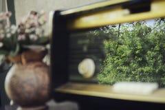 παλαιός ραδιο τρύγος Στοκ φωτογραφίες με δικαίωμα ελεύθερης χρήσης