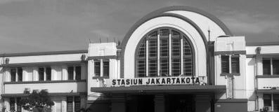 Παλαιός σιδηροδρομικός σταθμός πόλεων Στοκ φωτογραφία με δικαίωμα ελεύθερης χρήσης