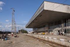 Παλαιός σιδηροδρομικός σταθμός Στοκ φωτογραφία με δικαίωμα ελεύθερης χρήσης