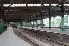 Παλαιός σιδηροδρομικός σταθμός Στοκ Εικόνα