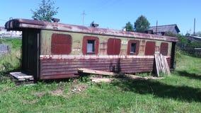παλαιός σιδηρόδρομος με& Στοκ εικόνες με δικαίωμα ελεύθερης χρήσης