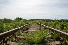 παλαιός σιδηρόδρομος στοκ εικόνες