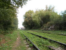 παλαιός σιδηρόδρομος Στοκ φωτογραφίες με δικαίωμα ελεύθερης χρήσης