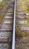 παλαιός σιδηρόδρομος Στοκ εικόνες με δικαίωμα ελεύθερης χρήσης