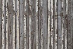 Παλαιός σκοτεινός ξύλινος φράκτης Στοκ Φωτογραφία