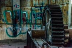Παλαιός σκουριασμένος Στοκ Εικόνα