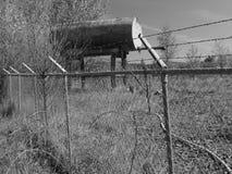 Παλαιός σταθμός ξαναγεμισμάτων καυσίμων στοκ φωτογραφίες