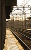 Παλαιός σταθμός τρένου Στοκ φωτογραφία με δικαίωμα ελεύθερης χρήσης