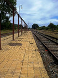 Παλαιός σταθμός τρένου στο νότο της Χιλής Στοκ φωτογραφία με δικαίωμα ελεύθερης χρήσης