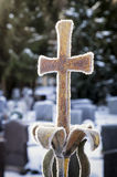 Παλαιός σταυρός σιδήρου Στοκ εικόνα με δικαίωμα ελεύθερης χρήσης
