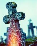 Παλαιός σταυρός Στοκ φωτογραφία με δικαίωμα ελεύθερης χρήσης