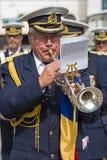 Παλαιός στρατιωτικός τραγουδιστής στοκ εικόνα
