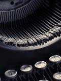 Παλαιός συγγραφέας τύπων, τεχνική μετατόπισης τόνου Στοκ Φωτογραφία