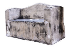 Παλαιός συγκεκριμένος πάγκος στοκ φωτογραφία