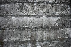 Παλαιός συγκεκριμένος φράκτης Στοκ εικόνα με δικαίωμα ελεύθερης χρήσης