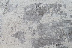 Παλαιός συμπαγής τοίχος με το άσπρο shabby χρώμα στοκ φωτογραφία με δικαίωμα ελεύθερης χρήσης
