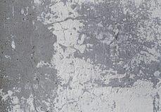 Παλαιός συμπαγής τοίχος με το άσπρο shabby χρώμα στοκ φωτογραφίες με δικαίωμα ελεύθερης χρήσης