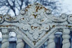 Παλαιός συμπαγής τοίχος με το βρύο Στοκ φωτογραφίες με δικαίωμα ελεύθερης χρήσης