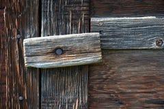 παλαιός σύρτης πορτών Στοκ Εικόνα