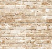 Παλαιός τοίχος ασβεστόλιθων άνευ ραφής Στοκ Φωτογραφία