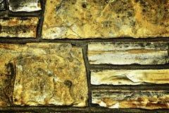 παλαιός τοίχος βράχου Στοκ φωτογραφία με δικαίωμα ελεύθερης χρήσης