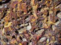 παλαιός τοίχος βράχου Στοκ Εικόνες