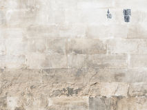 Παλαιός τοίχος και σχήματα 10 πετρών Στοκ εικόνα με δικαίωμα ελεύθερης χρήσης