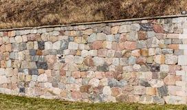 Παλαιός τοίχος πετρών, αρχιτεκτονική λεπτομέρεια Στοκ εικόνες με δικαίωμα ελεύθερης χρήσης